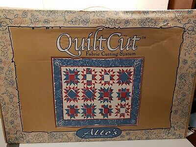 Alto's Quilt Cut Fabric Cutting System w/ Box VHS Tape