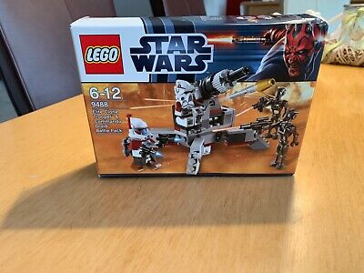 LEGO Star Wars Elite Clone Trooper & Commando Droid Battle Pack (9488)