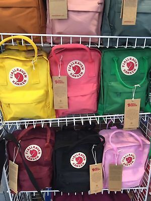 Fjallraven Re Kanken Mini Rucksack 20L/16L/7L Waterproof Sport Unisex Backpack