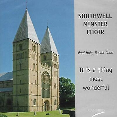 Southwell Minster Choir - It's a Thing Most... - Southwell Minster Choir CD S6VG