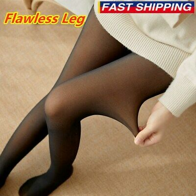 50 % OFF - Flawless Legs Fake Translucent Warm Fleece Pantyhose - Free Shipping