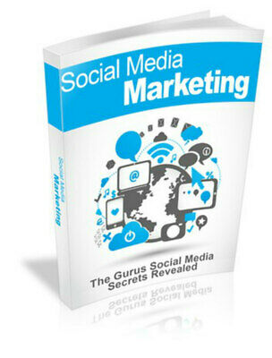 SOCIAL MEDIA ONLINE MARKETING EBOOK PDF WITH RESELL RIGHTS 2 hour delivery