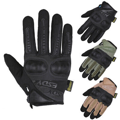 Tactical Hard Knuckle Gloves Army Military Combat SWAT Outdoor Hunting Duty Gear