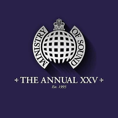 THE ANNUAL XXV Ministry of Sound 3 CD Set 2019