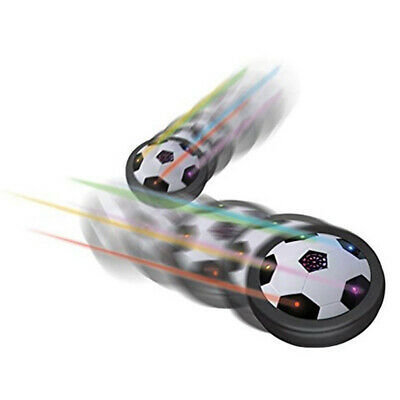 LED Soccer Hover Disk Gliding Ball Kid Indoor Floating Football Toy NewYear Gift