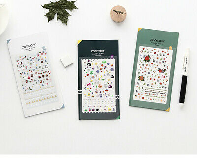 SALES!! Stickers Paper Lover Stationery Bullet Journal Japanese Diary Gift Nails