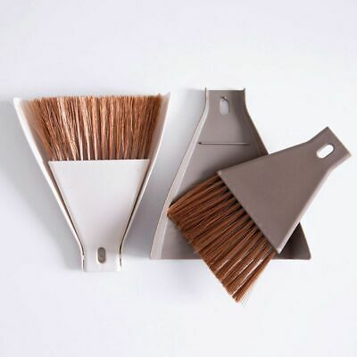 Mini Desktop Broom And Dustpan Set Household Dust Pan And Brush Cleaning Tool