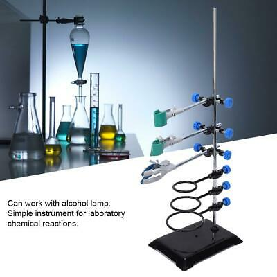 600mm Laboratory Stands Support & Lab Clamp Flask Clamp Condenser Clamp Bracket