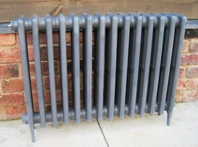 Victorian 4 Column Cast Iron Radiator 14 Sections Long 660mm - Next Day Delivery