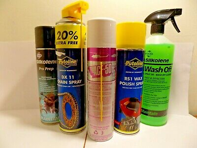 Bikers Gift Set Cleaning Maintenance And Protection Acf50 Wash Polish Lube