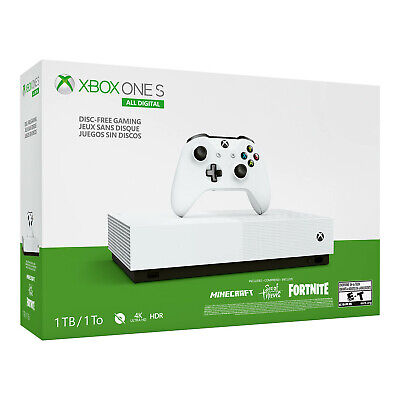 Xbox One S 1TB All-Digital Edition Console (Disc-free Gaming) [Brand New]