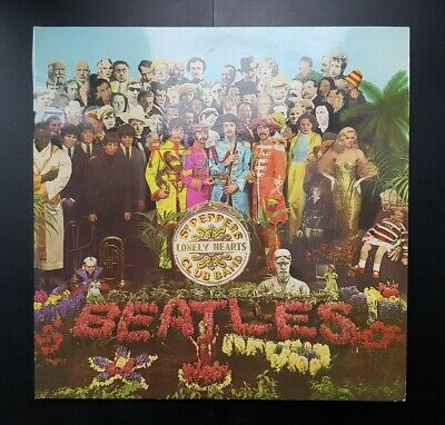 The Beatles SGT Pepper's Lonely Heart Club Band, Stereo, PCS 7027, 1967 Vinyl LP