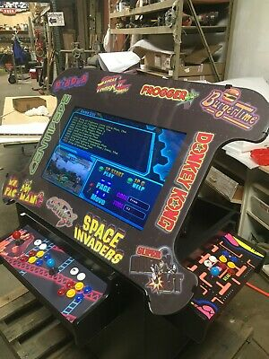 "3 Sided Cocktail Arcade with 32"" Monitor"