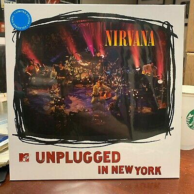 Nirvana - Mtv Unplugged In New York -Brand New Blu E Colored Vinyl Lp