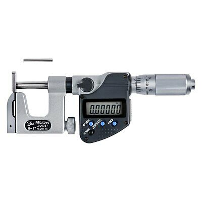 Mitutoyo Series 317 SAE/Metric Uni-Mike Interchangeable Anvil Type Micrometer