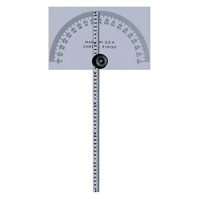 "Mitutoyo Series 968 6"" Stainless Steel Protractor"