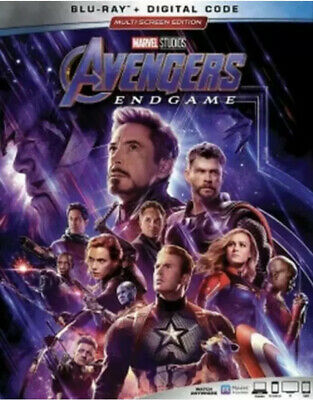 Avengers: Endgame (Blu-ray,  2019, No Digital Copy) with Slipcover