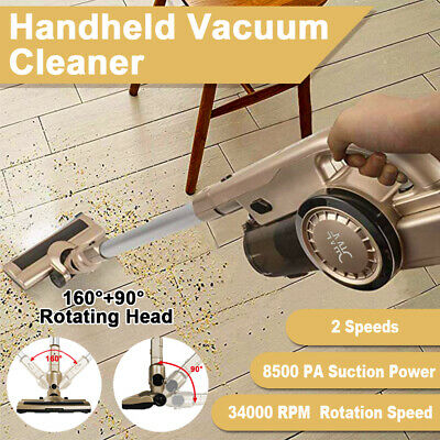 Vacuum Cleaner Handheld Cordless Stick Handstick Recharge Bagless 7in1 Cleaner