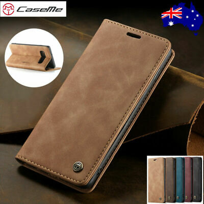 For Samsung Note 10 Plus S10 5G S9/8 S7 Edge Leather Flip Wallet Case Card Cover