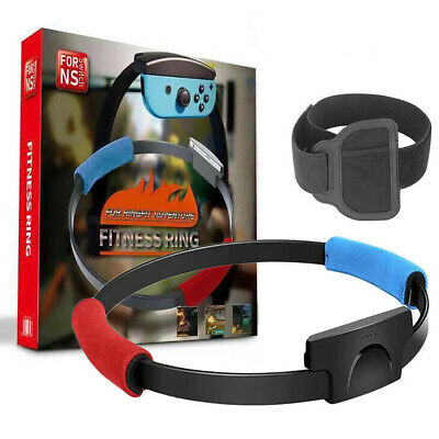für Nintendo Switch Ring Fit Adventure Fitness (Ring-Con+Leg Strap)