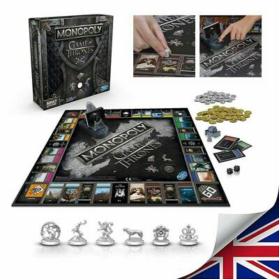 For Monopoly The Game of Thrones Board Game Adult Party Funny Cards Game Hot UK