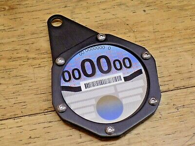 Universal Tax Disc Holder Can Be Used For Parking Permits In Black New Old Stock