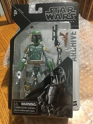 Star Wars The Black Series Archive Boba Fett 6-Inch Action Figure - Pre-Order
