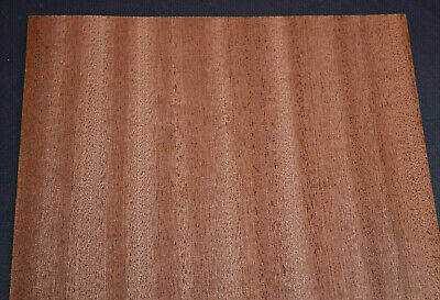 Sapele Ribbon Stripe Wood Veneer Sheets 8 x 42 inches                     7659-4