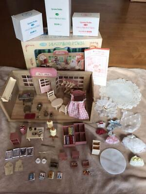 Sylvanian Families Forest Tailor Vintage Super Rare Set Miniature Animal Girl 44