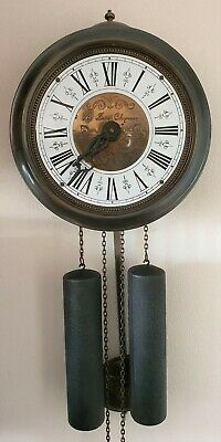 Jewellers Wall Clock 1975 Comtoise Style Hermle A St Severin Bell Strike