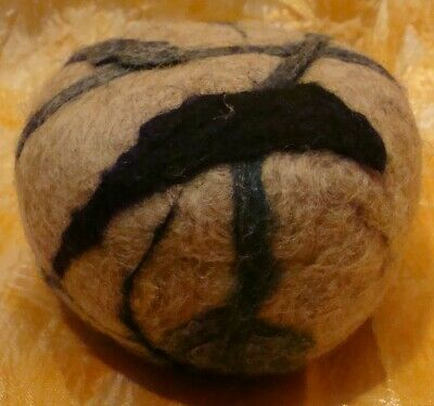 Felted Wool Pin Cushion Handmade Clean
