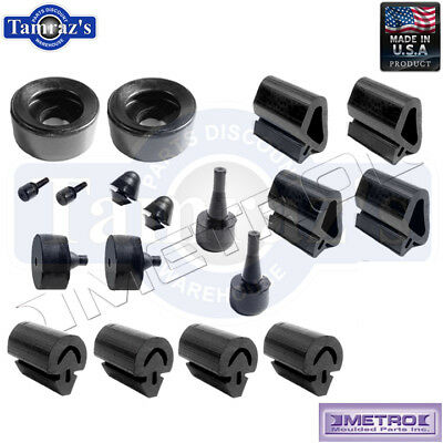71 Challenger Snap In Rubber Bumper Kit 20 Pieces SBK2329 Metro USA MADE New