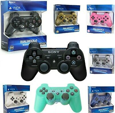 Original NEW PS3 Playstation 3 Wireless Dualshock 3 SIXAXIS Colored  Controller