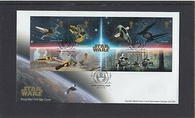 GB 2019 Star Wars MS Royal Mail FDC First Day Cover Iver Heath Iver special pmk
