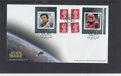 GB 2019 Star Wars retail stamp booklet Royal Mail FDC Iver Heath Iver special pk