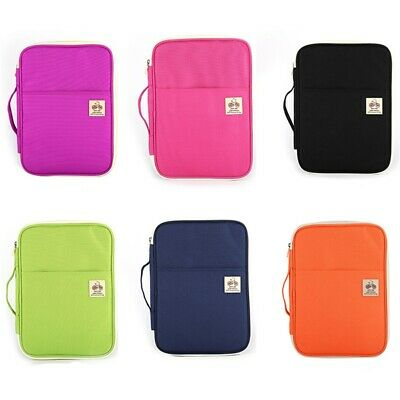 A4 Document Case Travel Files Folder Tickets Organizer Storage Messenger Bag Z