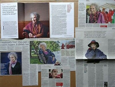 Margaret Atwood - clippings/cuttings/articles pack