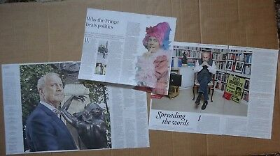 Gyles Brandreth - clippings/cuttings/articles pack