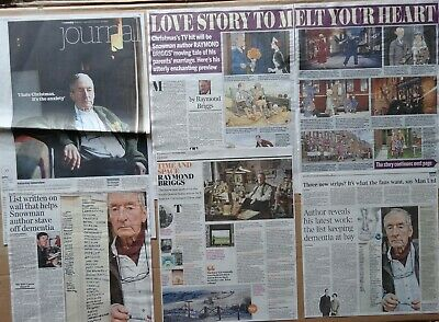 Raymond Briggs - clippings/cuttings/articles pack