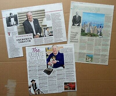 Frederick Forsyth - clippings/cuttings/articles