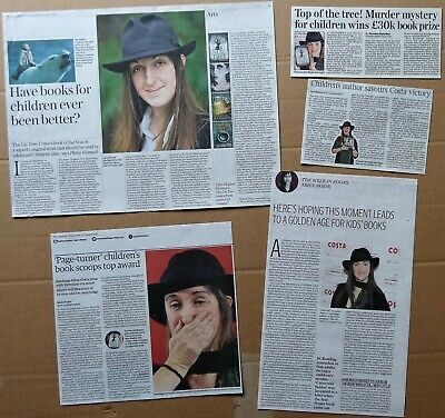 Frances Hardinge - clippings/cuttings/articles pack