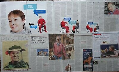 Michael Morpurgo - clippings/cuttings/articles pack