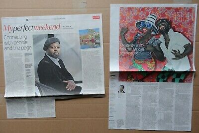 Ben Okri - clippings/cuttings/articles pack