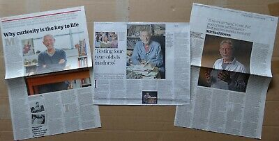 Michael Rosen - clippings/cuttings/articles pack