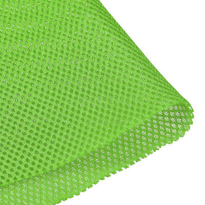Speaker Grill Cloth 1x1.45M Polyester Fiber Stereo Mesh Fabric Green