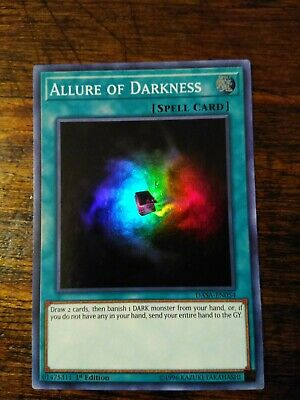 DASA-EN054 Allure of Darkness Super Rare 1st Edition YuGiOh