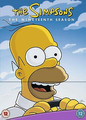 The Simpsons Season 19 New DVD Box Set Free delivery