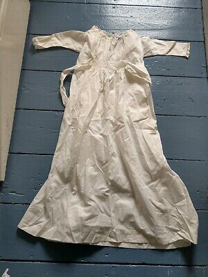 Vintage Retro Unique Baby Girl Boy Babies Christening Gown Outfit Costume #3
