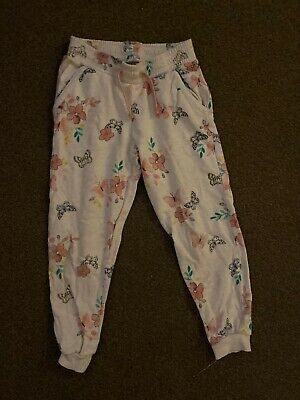 Girls Floral Tracksuit Bottoms By George Age 8