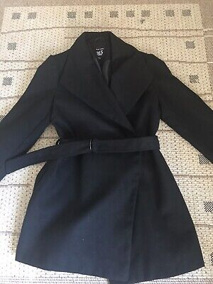 New Look Black Girls Coat, Size 12-13 Yes, Fab Condition